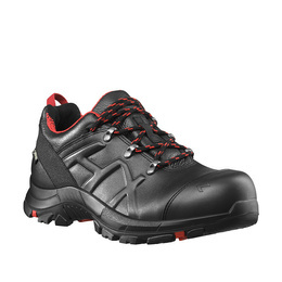 Buty Haix ® BLACK EAGLE Safety 54 Low Black/Red Nowe- II Gatunek