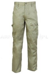 Cargo Trousers Zephyr PolyCotton Olive New