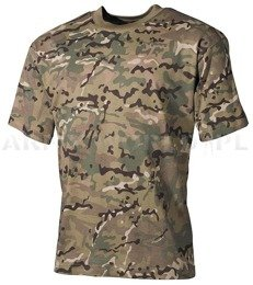 Childish T-shirt  Military T-shirt Short Sleeves MFH Multicam New