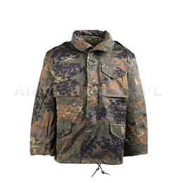 Children's Military Field Jacket Model M65 Flecktarn New