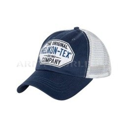 Czapka Trucker Logo Cap - Cotton Twill - Blue