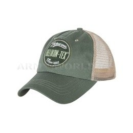 Czapka Trucker Logo Cap - Cotton Twill - Green