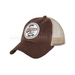 Czapka Trucker Logo Cap - Cotton Twill - Mud Brown