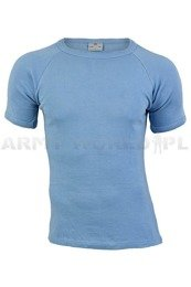 Danish Military Trening Blue T-shirt Original Military Surplus