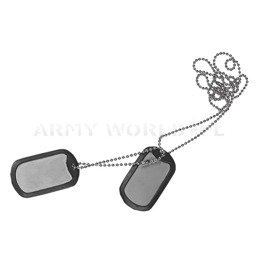 Dog Tag Stainless Steel Helikoin-Tex New