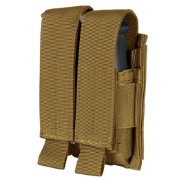 Double Pistol Mag Pouch Condor Coyote New
