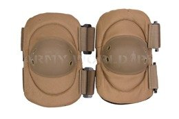 "Dutch Army Elbow Protective Pads ""D"" Coyote Original Used"
