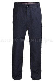 Dutch Army Flame Retardant Trousers PWG Navy Blue Military surplus Used