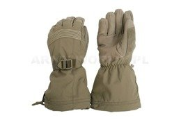 Dutch Army Gloves Without Pads Coyote Original Military Surplus Used