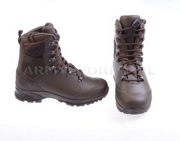 Dutch Army Military Shoes Haix Laars Gevecht Natweer Gore-tex Art. 203319 Brown Original New III Quality