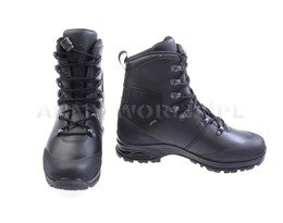 Dutch Army Military Shoes Haix Laars Gevecht Natweer Gore-tex Art. 203320 Black Original New III Quality