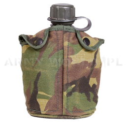 Dutch Military Canteen With Cup And Cover  DPM Original Demobil