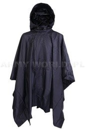 Dutch Military Coat Poncho Dark Blue Original Demobil