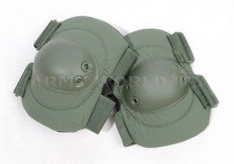 Dutch Military Elbow Protective Pads Oliv Original New