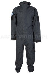 Ex Police CBRN Coverall  Remploy Black Original Used