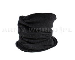 Face veil/sleeve/half balaclava Polish Army Black Original New