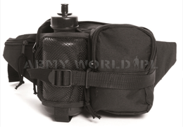 Fanny Pack With Bottle Mil-tec Black New