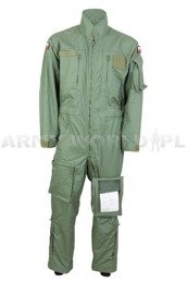 Firefighter Coverall Polish Army 606A/MON Flame-retendant Olive Original Used