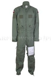 Firefighter Coverall Polish Army 606b/MON Flame-retendant Original Used