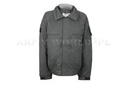 Flame Resistant Protective German Army Men's Jacket With Waterproog Liner Goretex ESA Grey Original Used