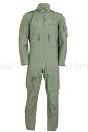 Flame Retardant Pilot Coverall Wahler Aramide Bundeswer Olive Used