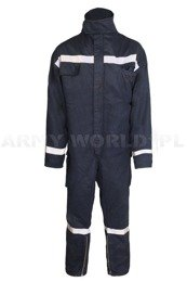 Flame-retardant Firefighter's Coveralls Kamps Genuine Military Surplus Used