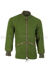 Fleece Jacket British Army Olive Original New