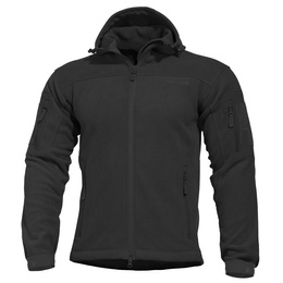 Fleece Jacket with A Hood  Hercules 2.0 Pentagon Black New