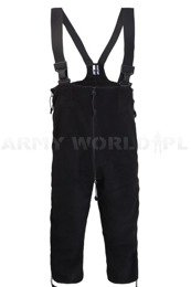 Fleece Lining Pants US Army Cold Weather DSCP POLARTEC Black Genuine Military Surplus New