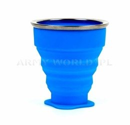 Foldable Cup Bushmen Blue New