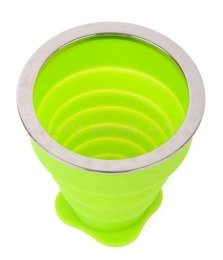 Foldable Cup Bushmen Green New