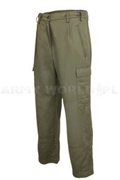 German Police Pants Flame-Retardant Protectoren Olive Original New