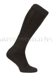 German Police Socks Long Black Winter New