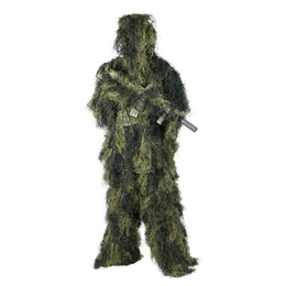 Ghillie Suit Digital Woodland SET shirt pants hat & cover for weapons - Masking suit gor sniper/hunter