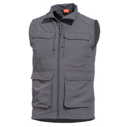 Gomati Vest Pentagon Cinder Grey New