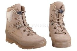 Haix British Army Boots Combat High Liability Solution C Desert New II Quality