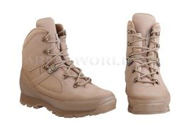 Haix British Army Boots Combat High Liability Solution D Desert New II Quality