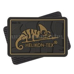 Helikon-Tex Logo Patch PVC Coyote 1 Piece