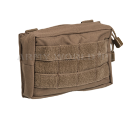 Horizontal Belt Pouch Molle Mil-tec SM Coyote New