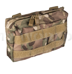 Horizontal Belt Pouch Molle Mil-tec SM Multicam New