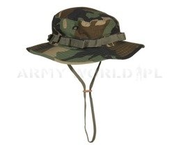 """Hot Weather"" US ARMY Hat Ripstop Woodland  Original New"