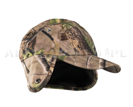 Hunting Cap Wild Trees Goretex Miltec no-swishing, Forest camouflage