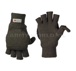 Hunting Gloves Foldable Mil-tec Thinsulate Oliv New