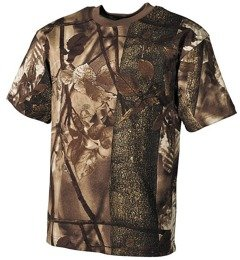Hunting T-shirt Wild Tress autumn camouflage  MFH
