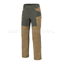 Hybrid Outback Pants DuraCanvas® Coyote/Taiga Green