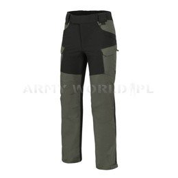 Hybrid Outback Pants DuraCanvas® Taiga Green / Black