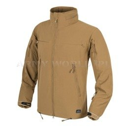 Jacket Helikon-Tex Cougar® QSA™ + HID™ Soft Shell Windblocker Coyote