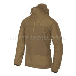 Jacket  Windrunner Windshirt Helikon-Tex Nylon Coyote New