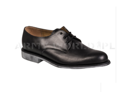 Leather Gala Shoes French Army Black Original New