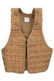 Load-Bearing Tactical Vest NFM Group Coyote Genuine Military Surplus Used